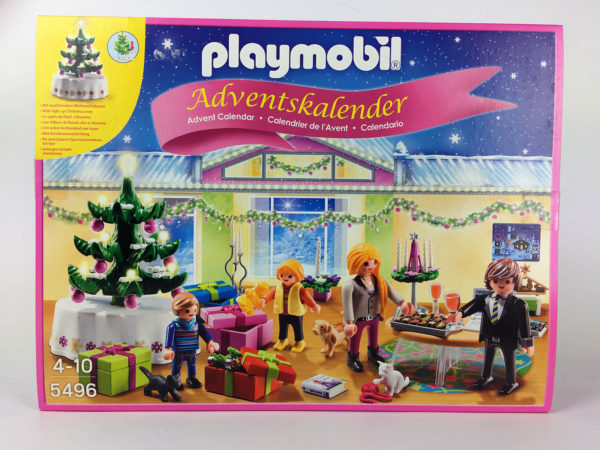 Adventskalender Playmobil 5496 – 1