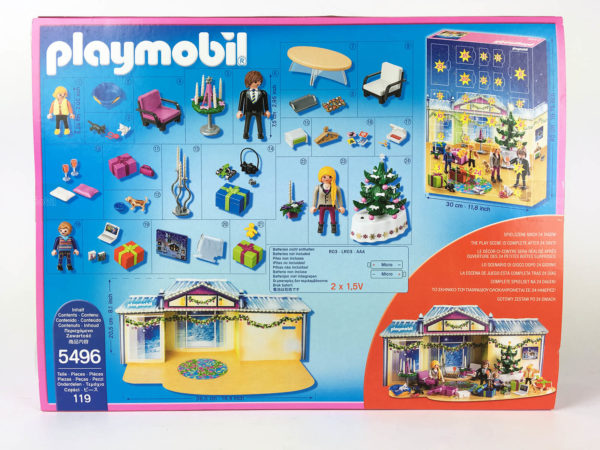 Adventskalender Playmobil 5496 – 2